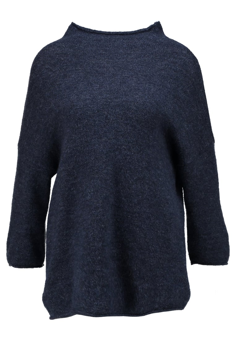 Soaked in Luxury FLORA JUMPER MA Sweter midnight blue melange - 30402413