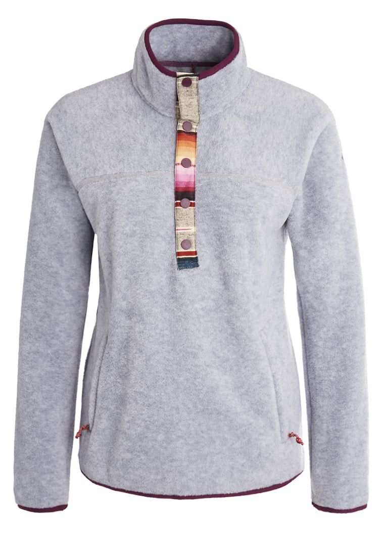 Burton ANOUK Bluza z polaru monument heather - 173381