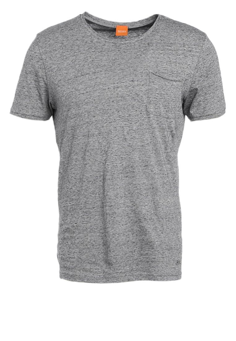 BOSS Orange THANKFUL Tshirt basic grey melange - 50371154