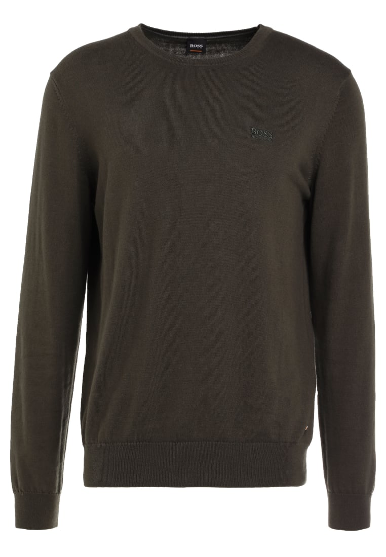 BOSS Orange AKHUB Sweter dark green - 50386763