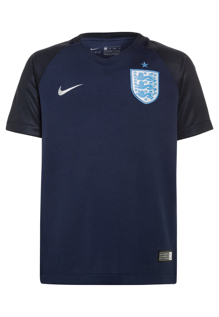Nike Performance ENGLAND DRY STADIUM 3RD Koszulka reprezentacji midnight navy/black/metallic silver - 832490