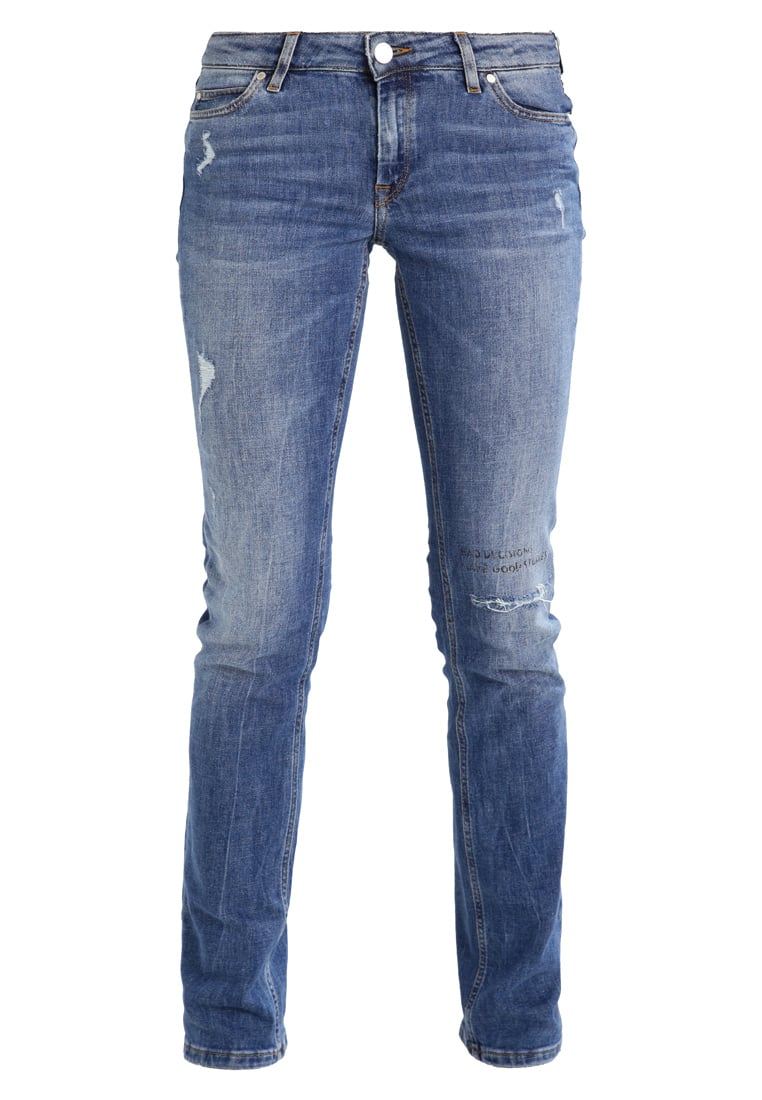 Marc O'Polo DENIM DENIM TROUSERS, FIT ALVA, SLIM BUT Jeansy Straight leg combo
