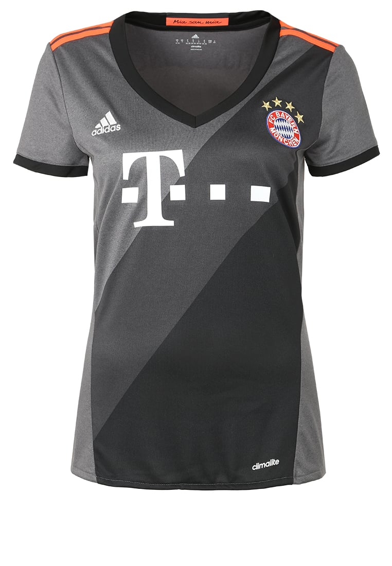 adidas Performance FC BAYERN Artykuły klubowe gris/noir/rouge - BXE58