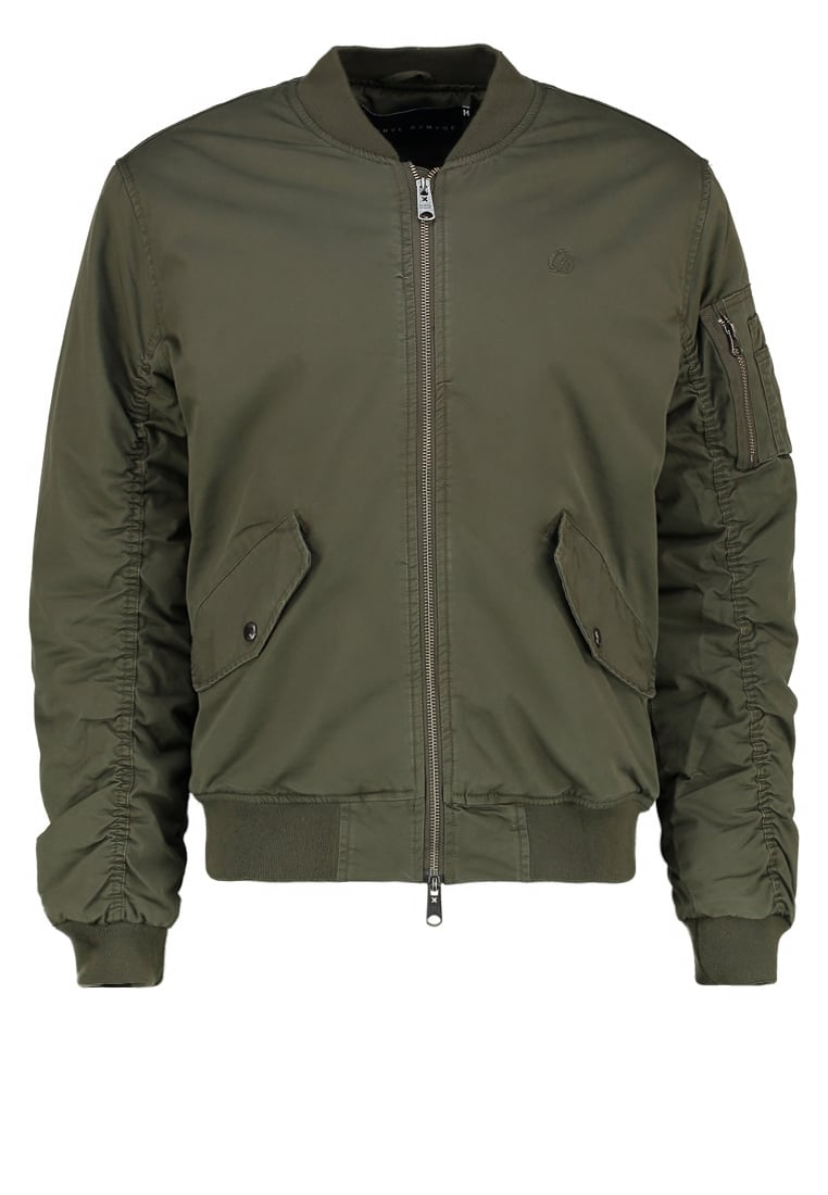 Criminal Damage AIRFORCE Kurtka Bomber khaki - AIRFORCE JACKET