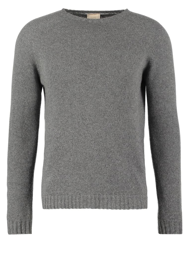 120% Cashmere Sweter grey - 3160 F299 701