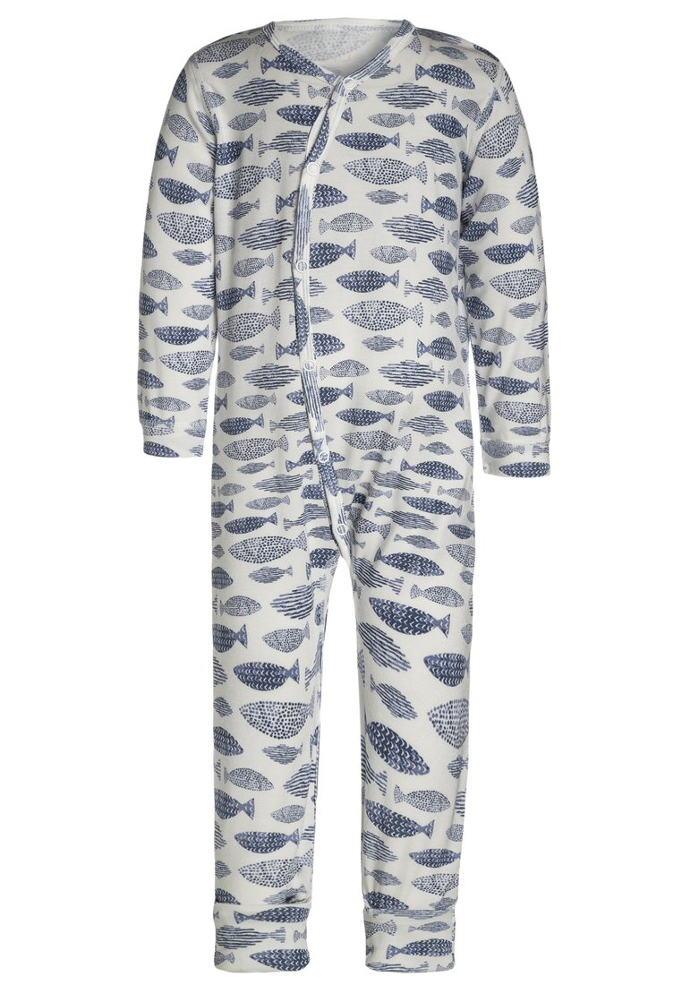 Hust & Claire NIGHTOVERALL BABY Piżama blue tint - 39839994