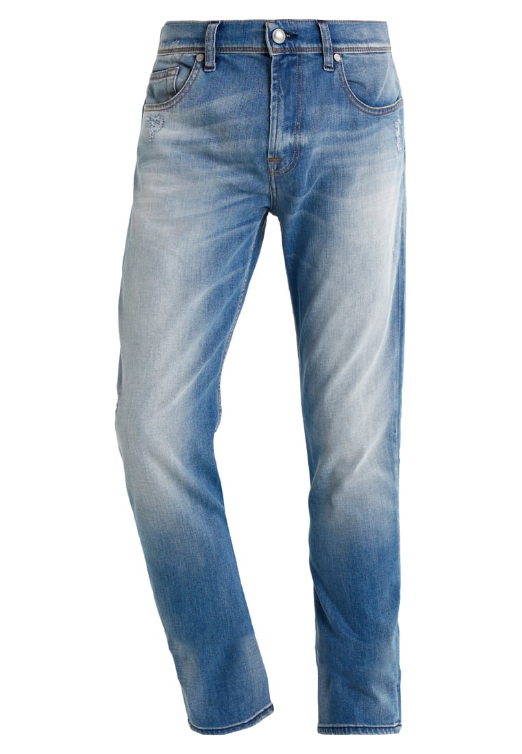 7 for all mankind CHAD FULLPROOF Jeansy Straight Leg light blue - SD3U500AC