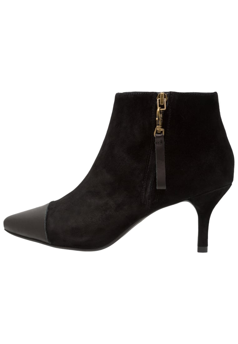 Shoe The Bear AGNETE MIX Ankle boot black - STB1182
