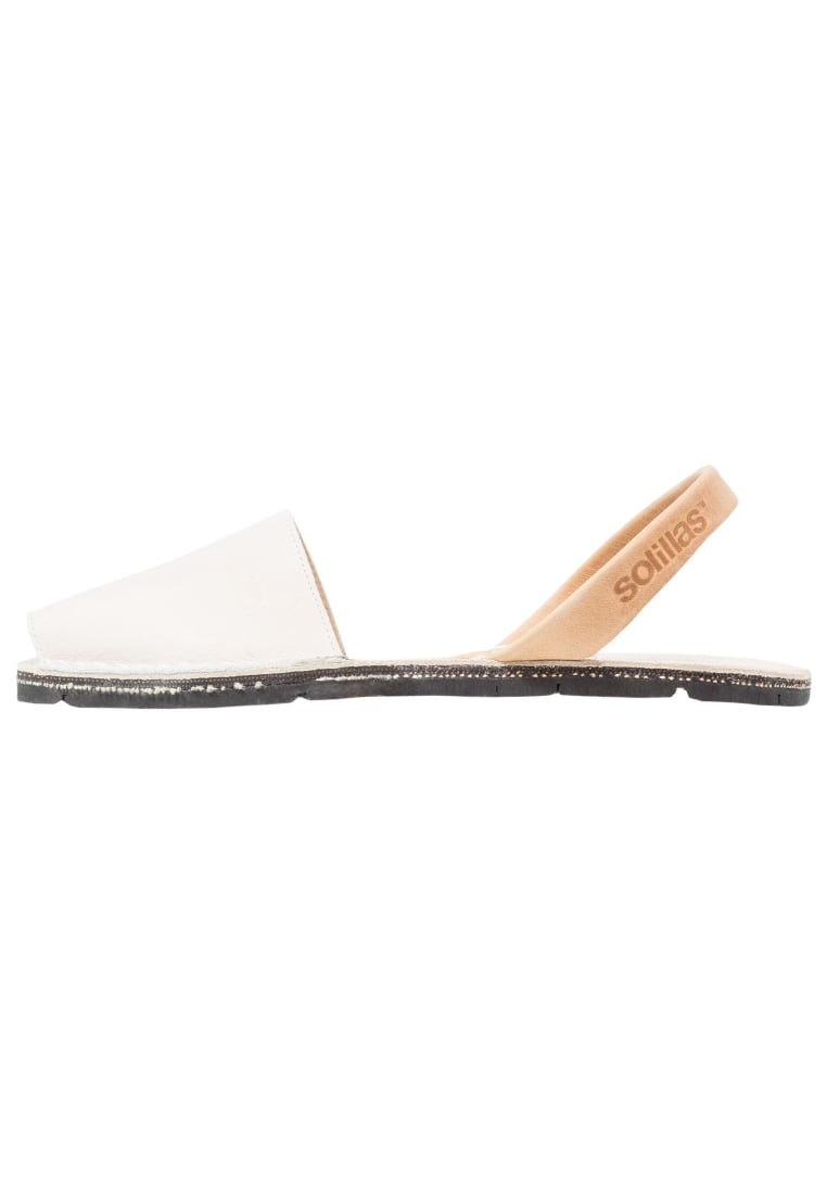 Solillas Sandały offwhite/tan - RUSTIC SANDALS - WHITE & TAN