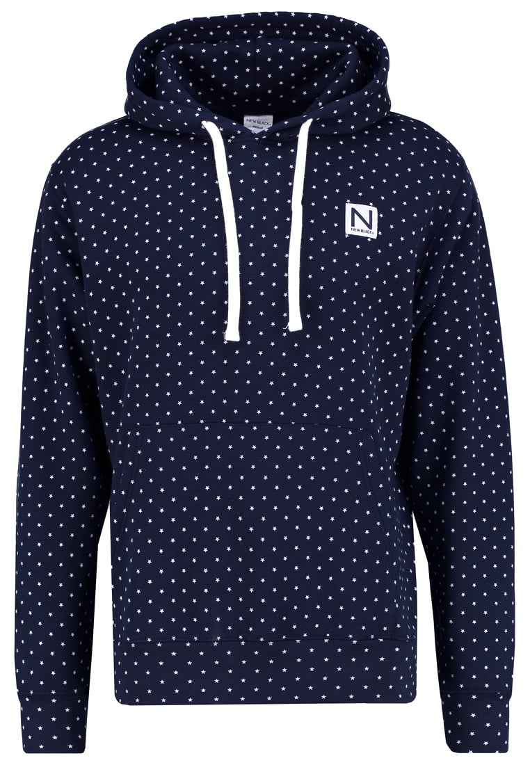 New Black STAR Bluza navy - Star Hood