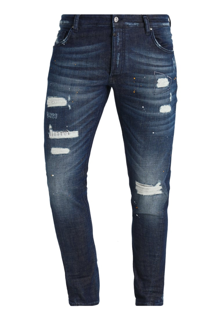 Tigha BILLY THE KID Jeansy Relaxed fit blue - 102166