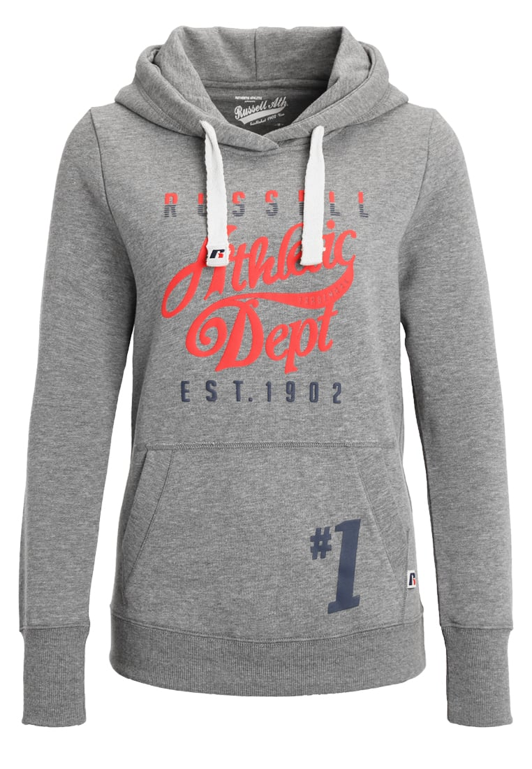 Russell Athletic Bluza z kapturem grey - A6-131-2
