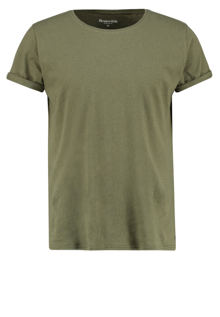 Resteröds JIMMY Tshirt basic desert green - 7994-02