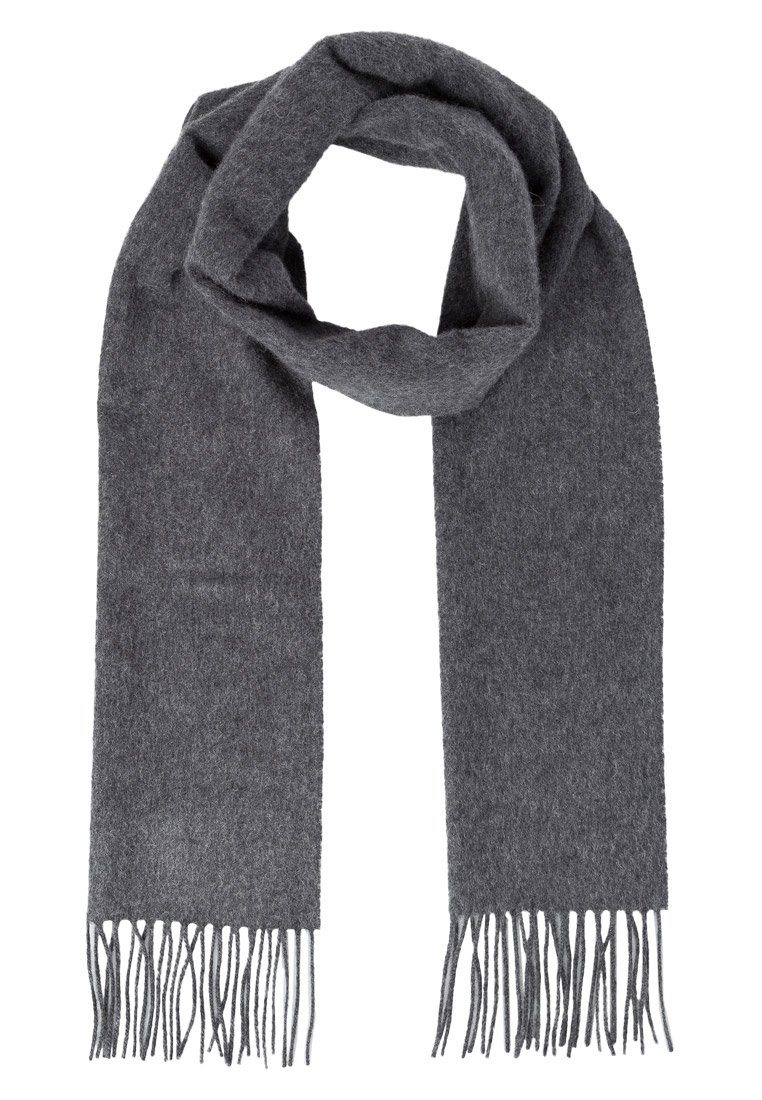 Johnstons Cashmere GARVALD Szal mid grey - WA16