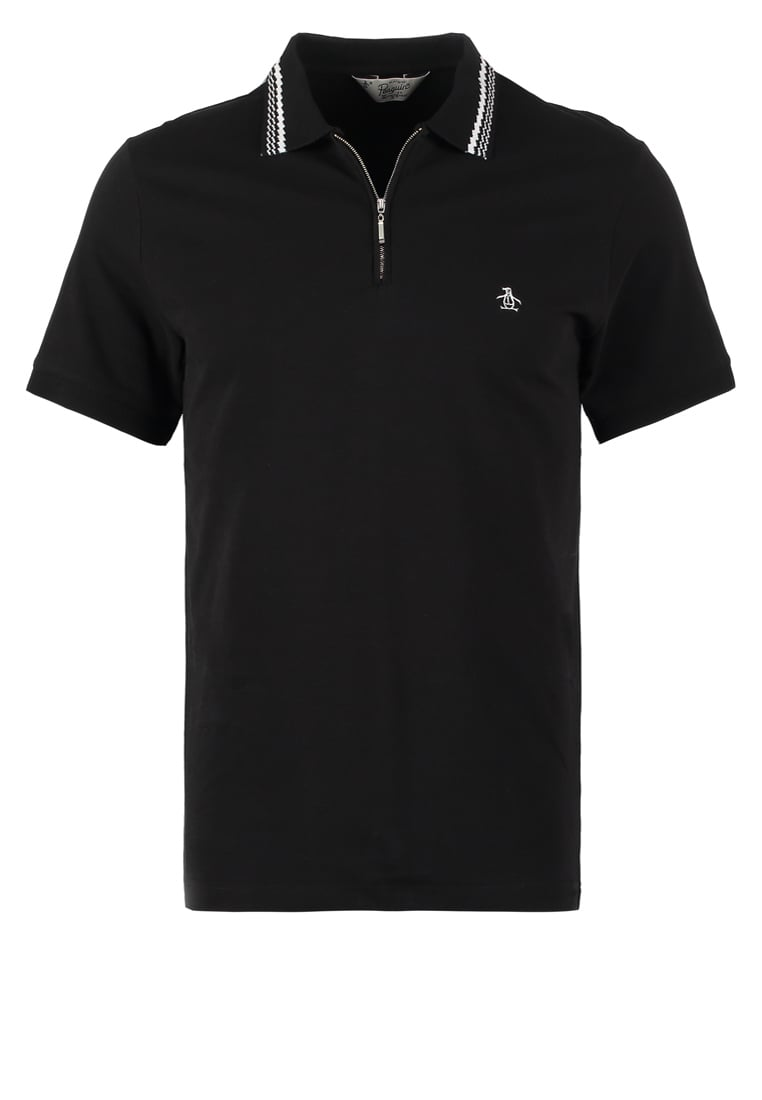 Original Penguin Koszulka polo true black - OPKF6329