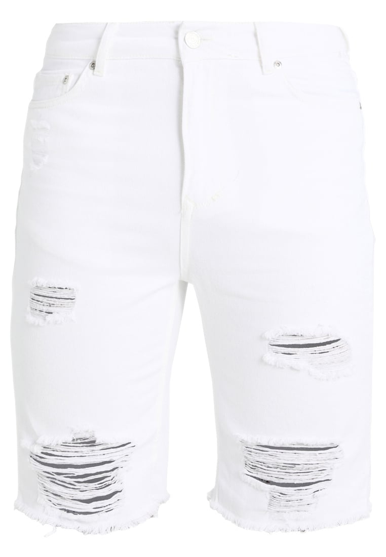 Brooklyn's Own by Rocawear Szorty jeansowe white - BR-0317-M-0530