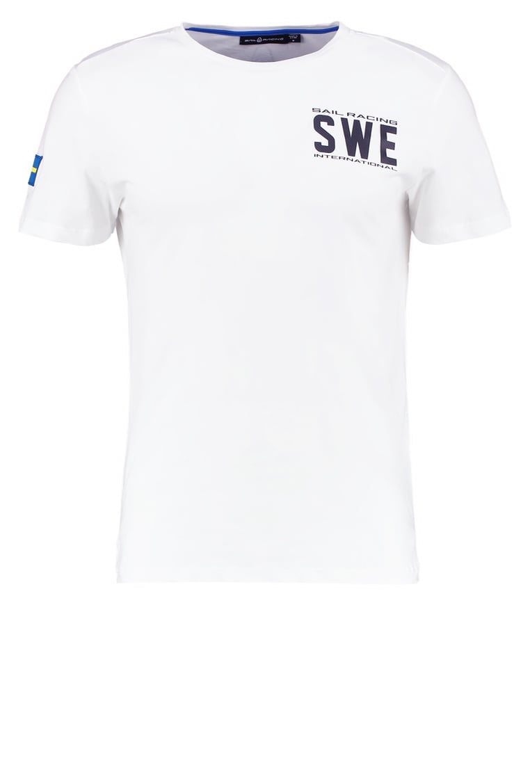 Sail Racing INTERNATIONAL Tshirt z nadrukiem white - 1711513
