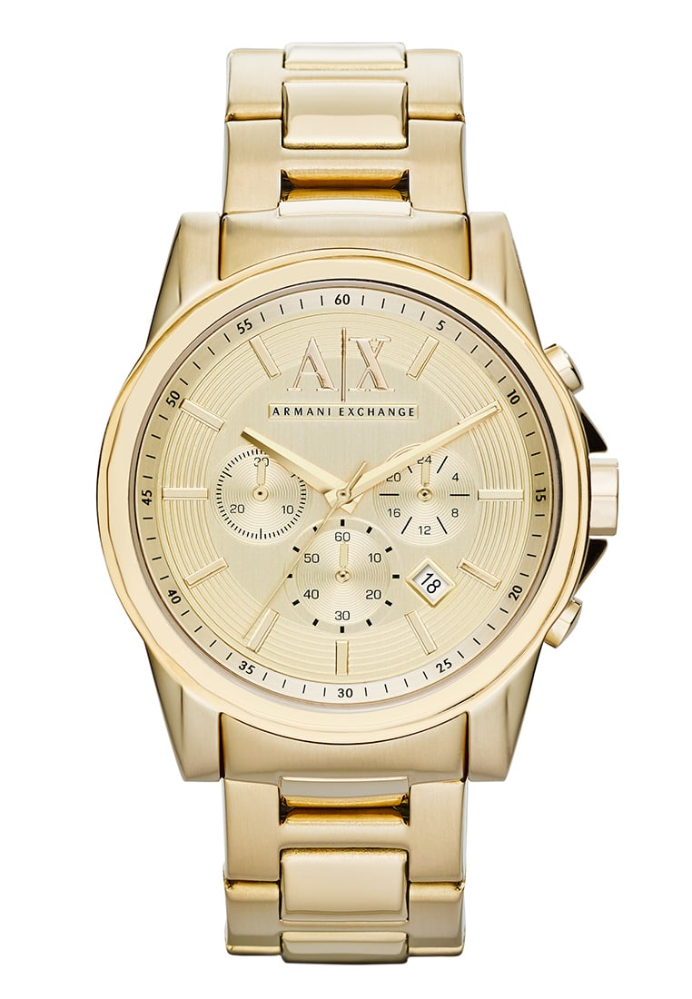 Armani Exchange Zegarek chronograficzny goldcoloured - AX2099