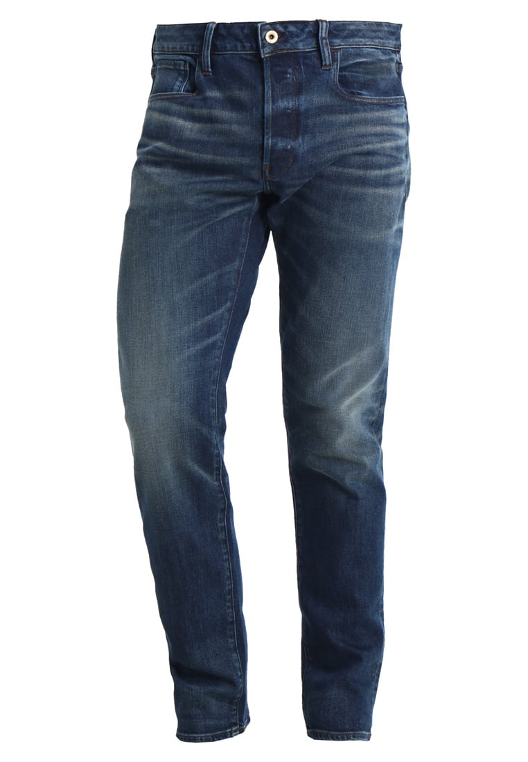 GStar 3301 DECONSTRUCTED SLIM Jeansy Slim Fit medium aged - D05702