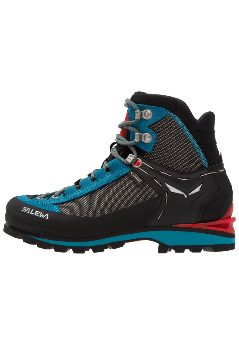 Salewa CROW GTX Buty górskie black/hot coral - 61329