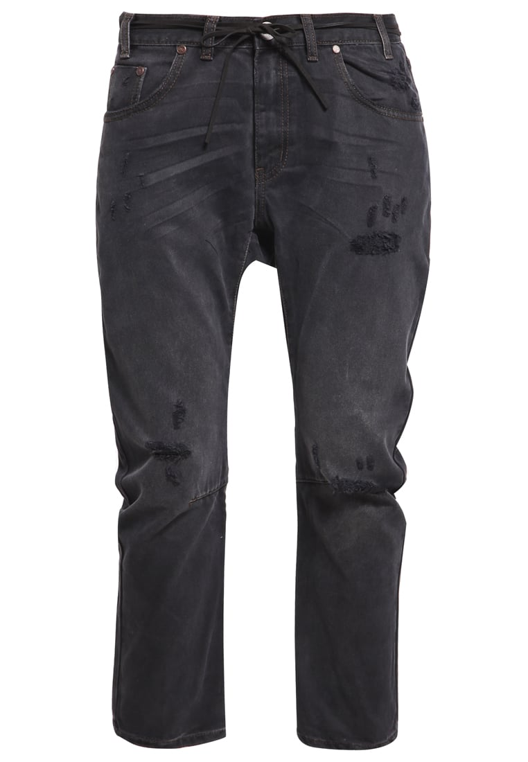 One Teaspoon SAINTS Jeansy Relaxed fit black van - 18354A