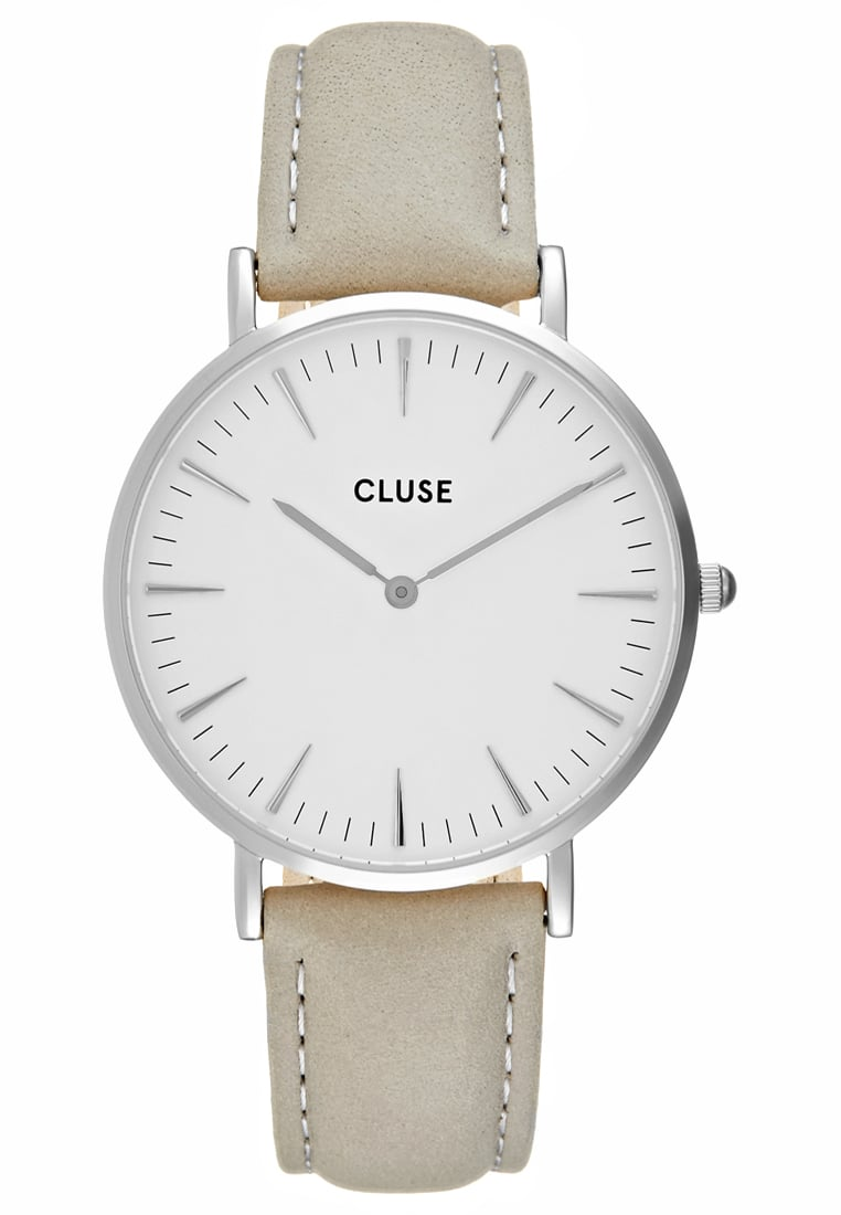 00b20ae554650 Cluse LA BOHÈME Zegarek silvercoloured white grey - CL18215