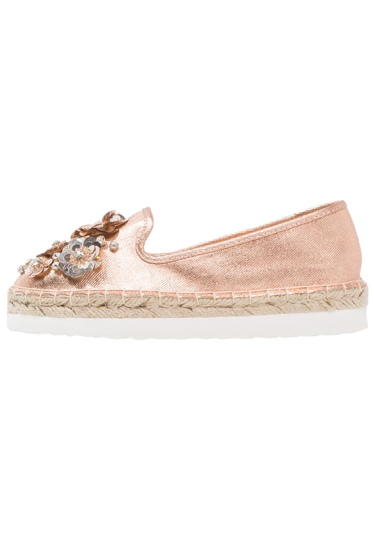 Head over Heels by Dune ENISTA Espadryle rose gold - ENISTA
