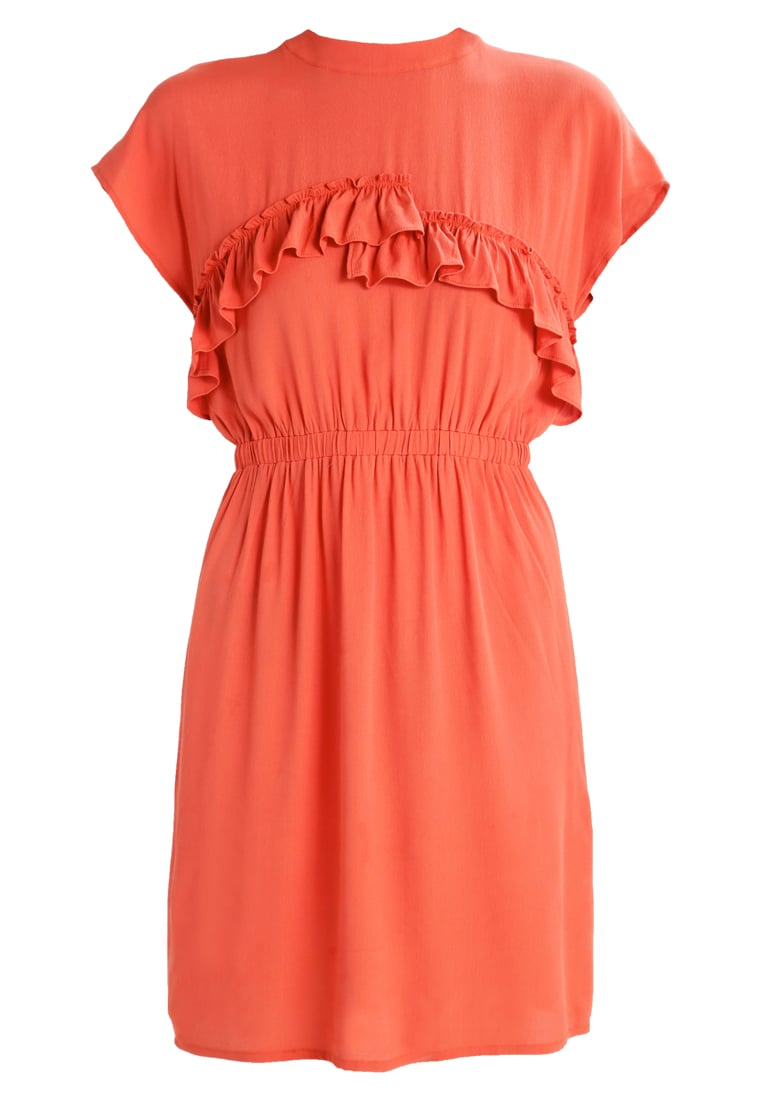 Moves DANELLA DRESS Sukienka letnia backed clay - 163690008