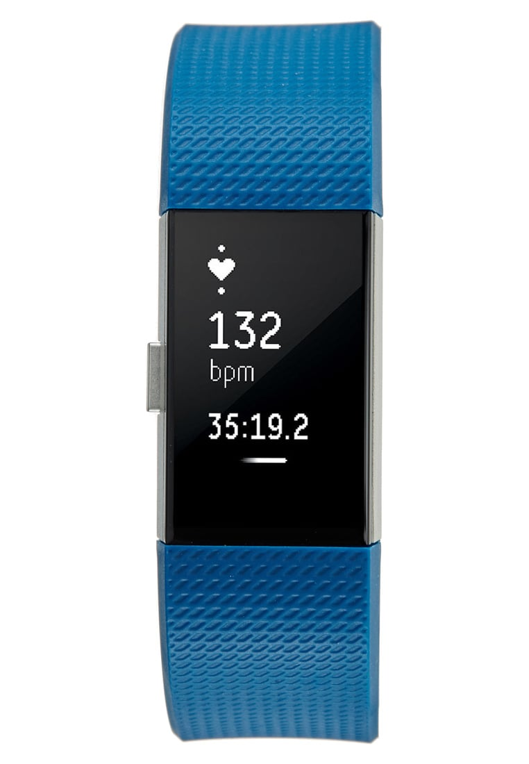 Fitbit CHARGE 2 Pulsometr blue/silvercoloured - 40-29-35