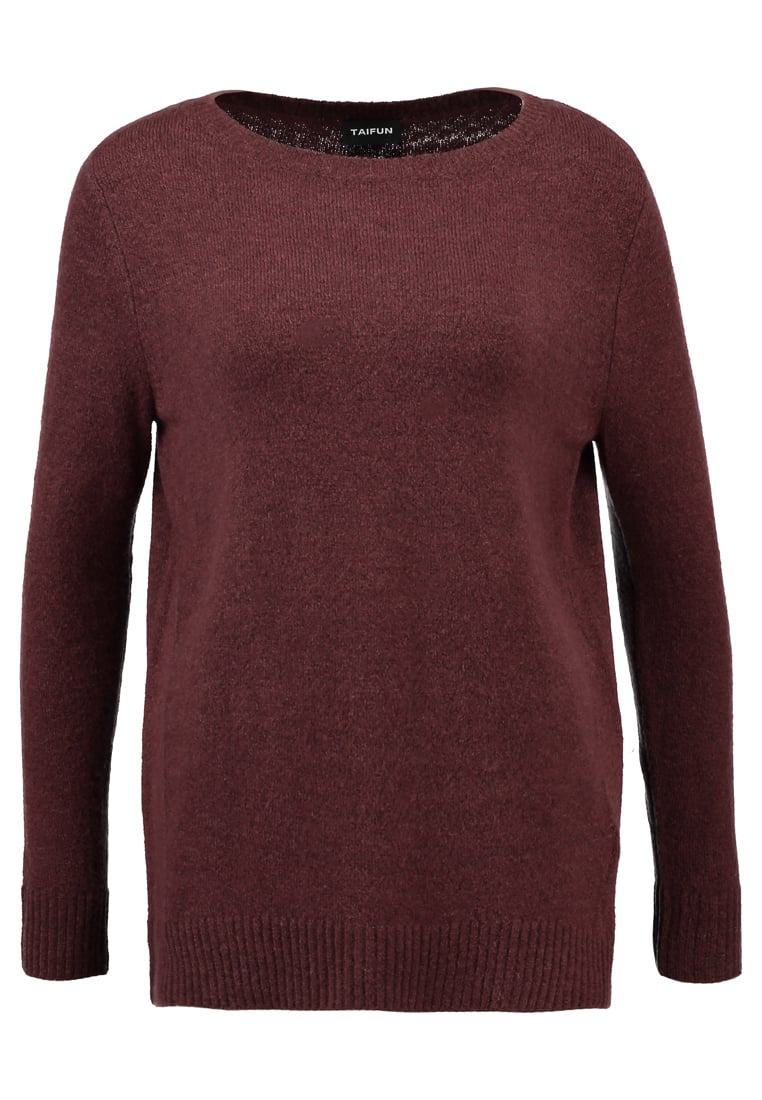 Taifun PULLOVER 1/1 ARM Sweter red