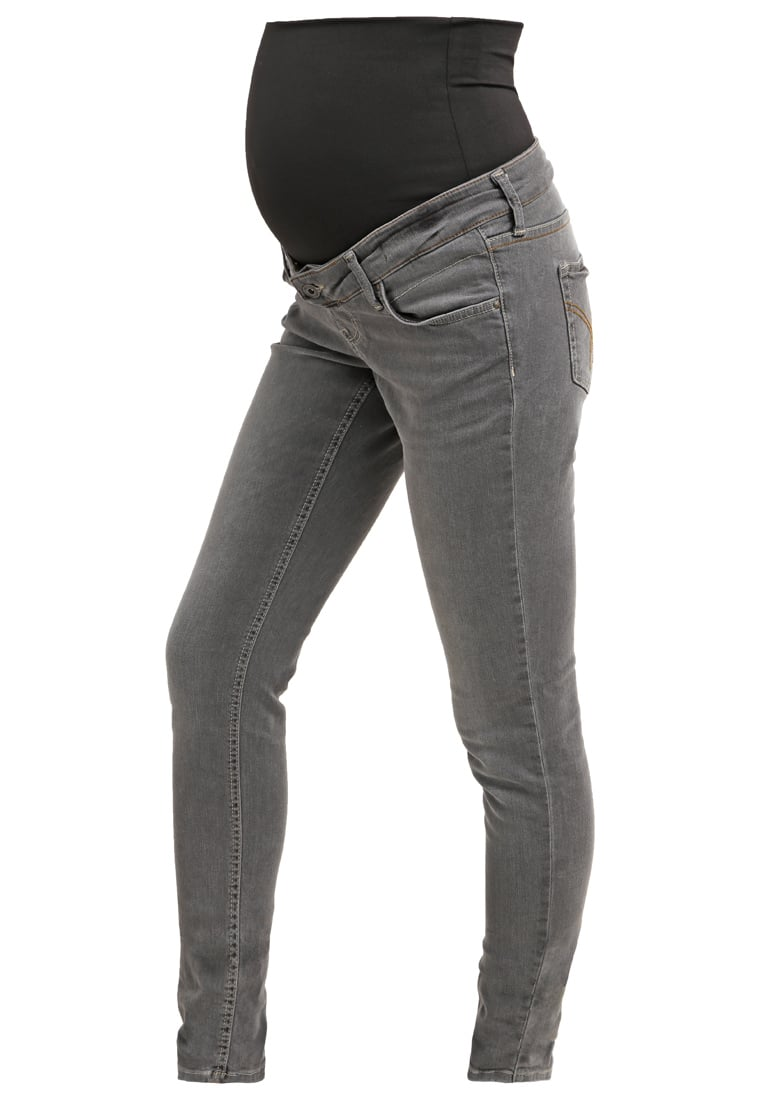 Queen Mum Jeansy Slim fit grey - 61663507
