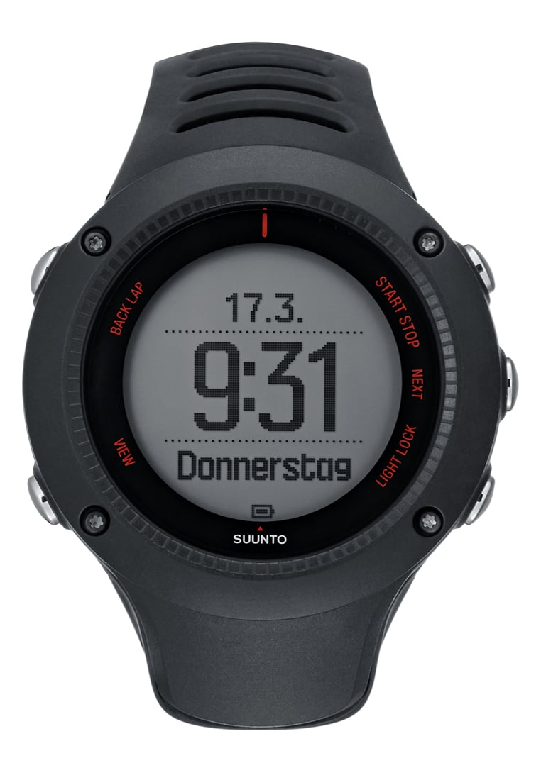 Suunto AMBIT3 RUN Pulsometr black - SS021257000