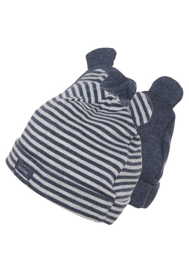 GAP 2 PACK Czapka navy heather - 595717