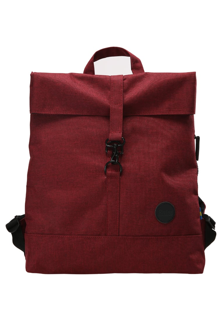 Enter CITY FOLD TOP Plecak melange wine red - A17LC1847_86