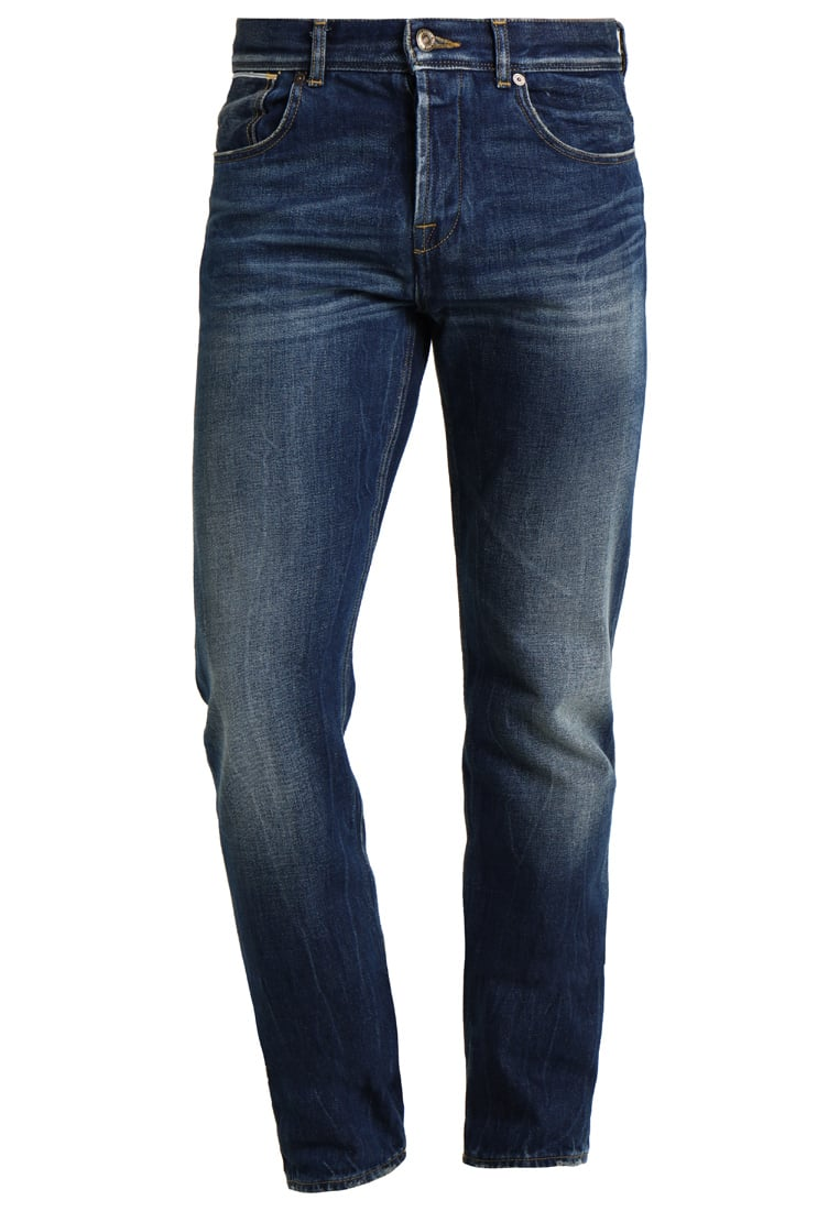 7 for all mankind CHAD KAZAN Jeansy Straight leg kazblue - SD3R680AB