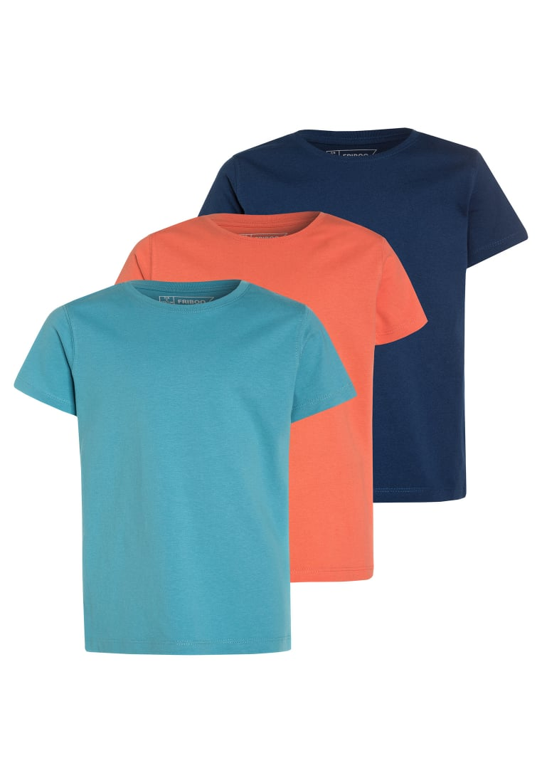 Friboo 3 PACK Tshirt basic multicolor - 3PK SS T COLOURS