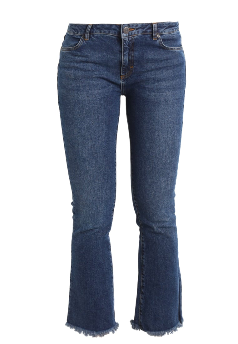 2ndOne JANELLE Jeansy Bootcut blue mount - 10648