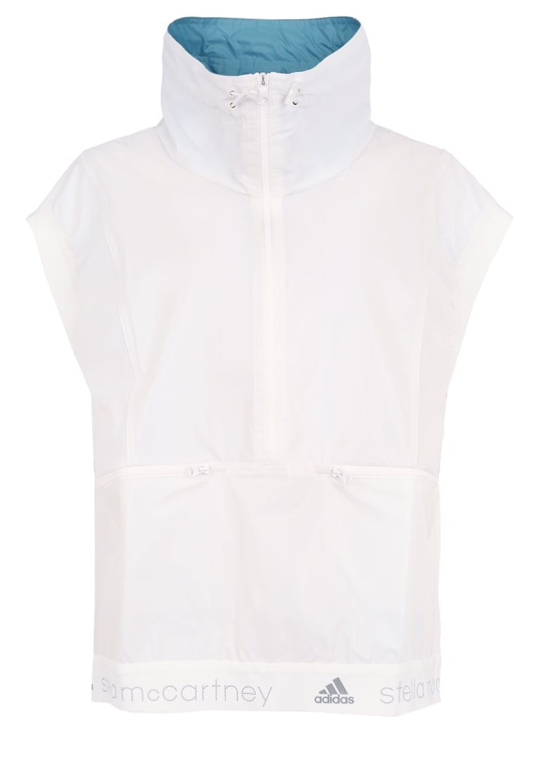 adidas by Stella McCartney GILET Kamizelka white chalk - BQU79
