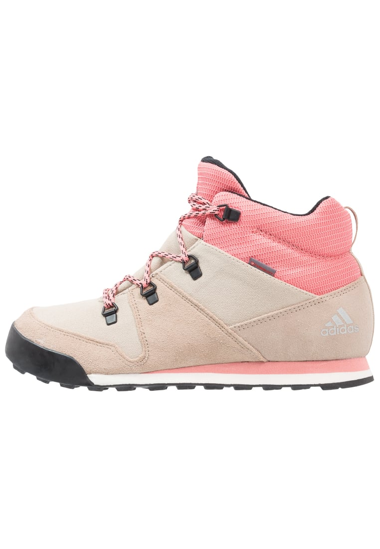 adidas Performance CW SNOWPITCH Buty trekkingowe clay brown/trace khaki/tactile rose - KDV79