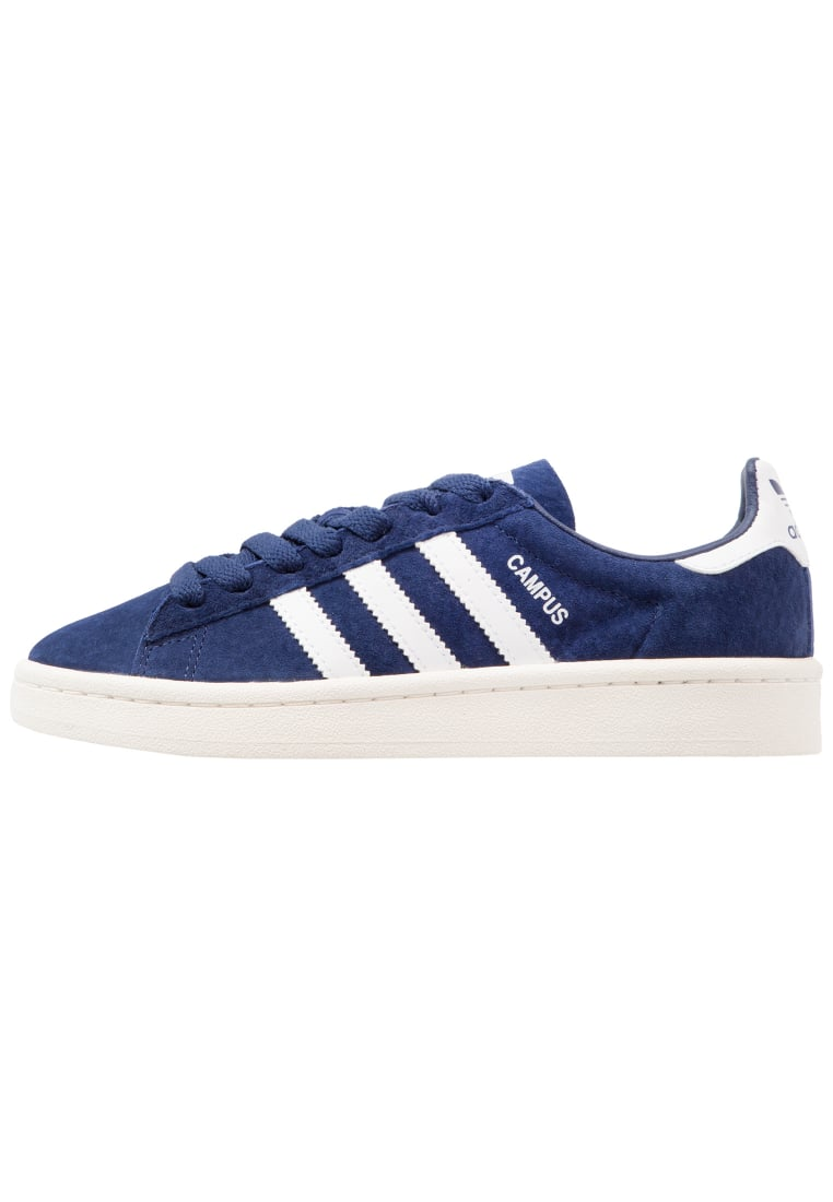 adidas Originals CAMPUS Tenisówki i Trampki dark blue/white - CEJ14