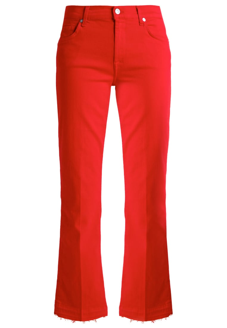 7 for all mankind Jeansy Bootcut red - SYRM980