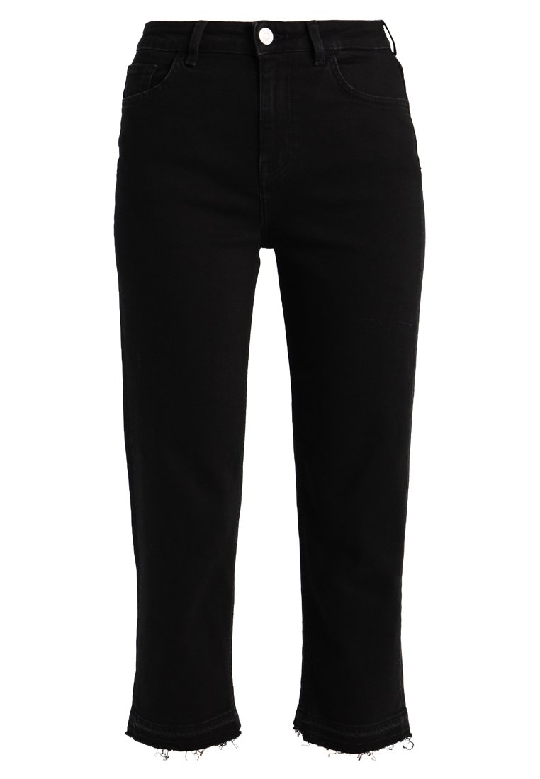 Haikure BRUXELLES Jeansy Relaxed Fit comfort kelly black denim stone wash - HEW03133