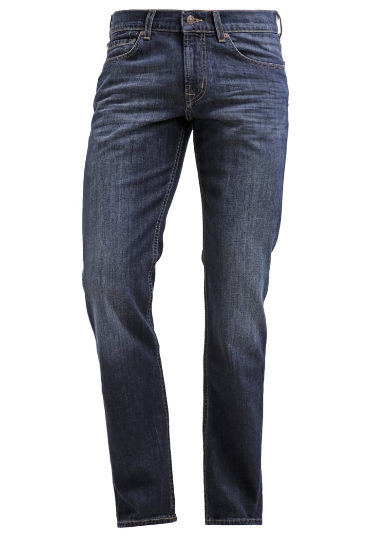 7 for all mankind SLIMMY Jeansy Slim fit dark used - SMSR450MW
