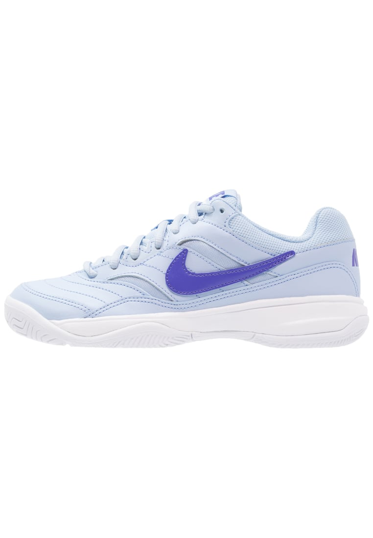 Nike Performance COURT LITE Buty multicourt ice blue/comet blue/white - 845048