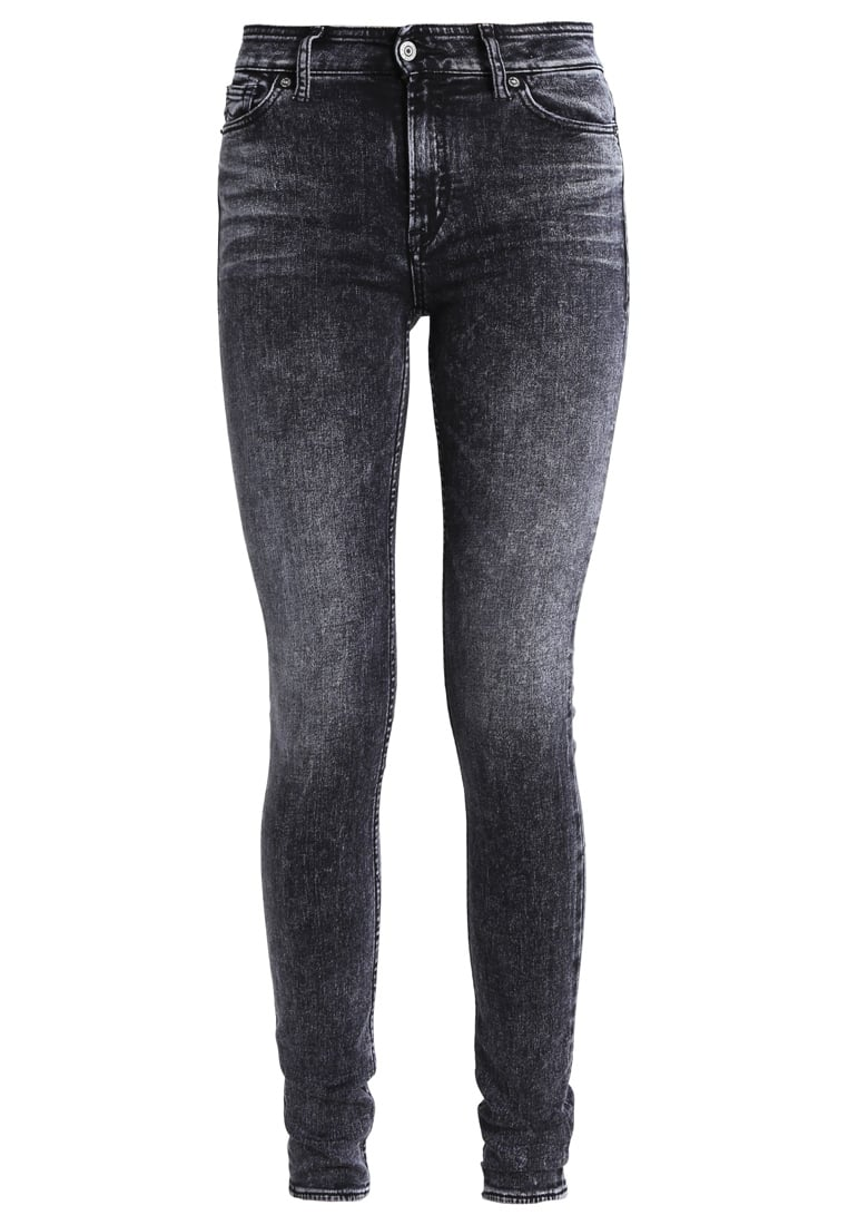 Kings Of Indigo CHRISTINA Jeans Skinny Fit charkboard marble - K160701201