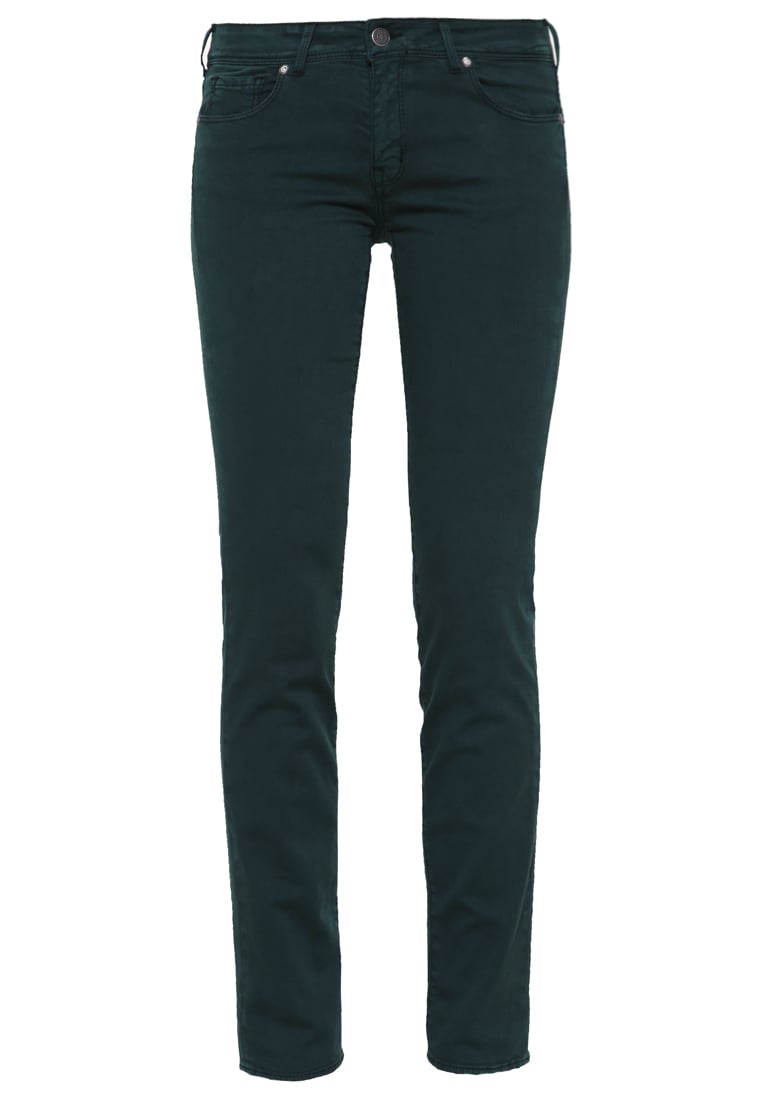 Cimarron JACKIE RASO Jeansy Slim fit midnight green - J08-552