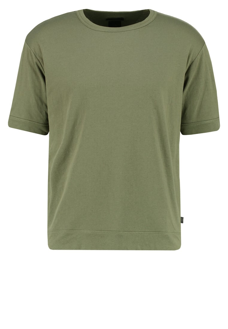 Tiger of Sweden Jeans BEEFY Tshirt basic dusty green - W62733001
