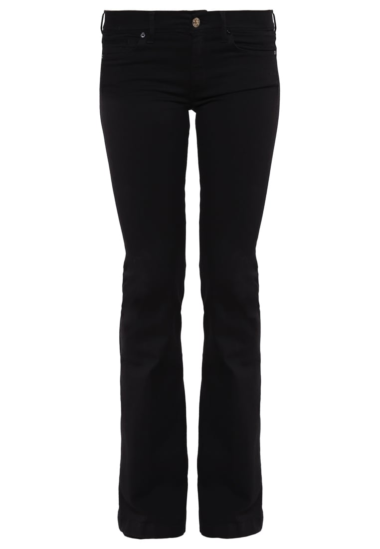 7 for all mankind CHARLIZE Jeansy Bootcut black denim