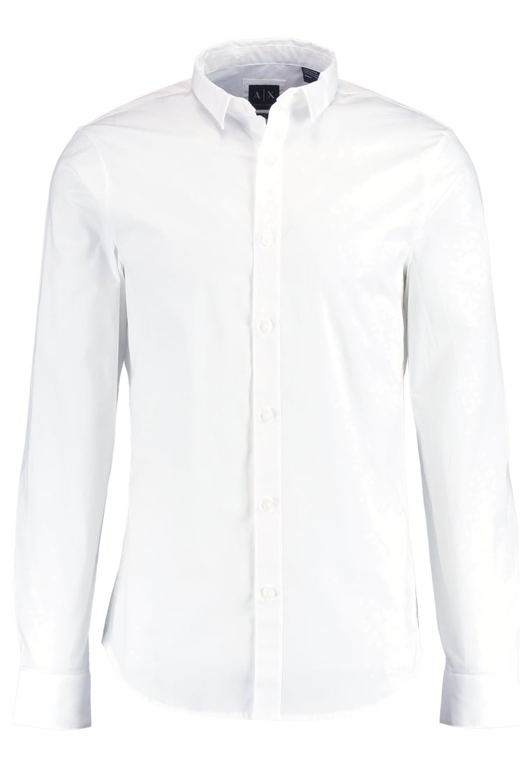 Armani Exchange SLIM FIT Koszula biznesowa optic white - 8NZC41 ZNALZ