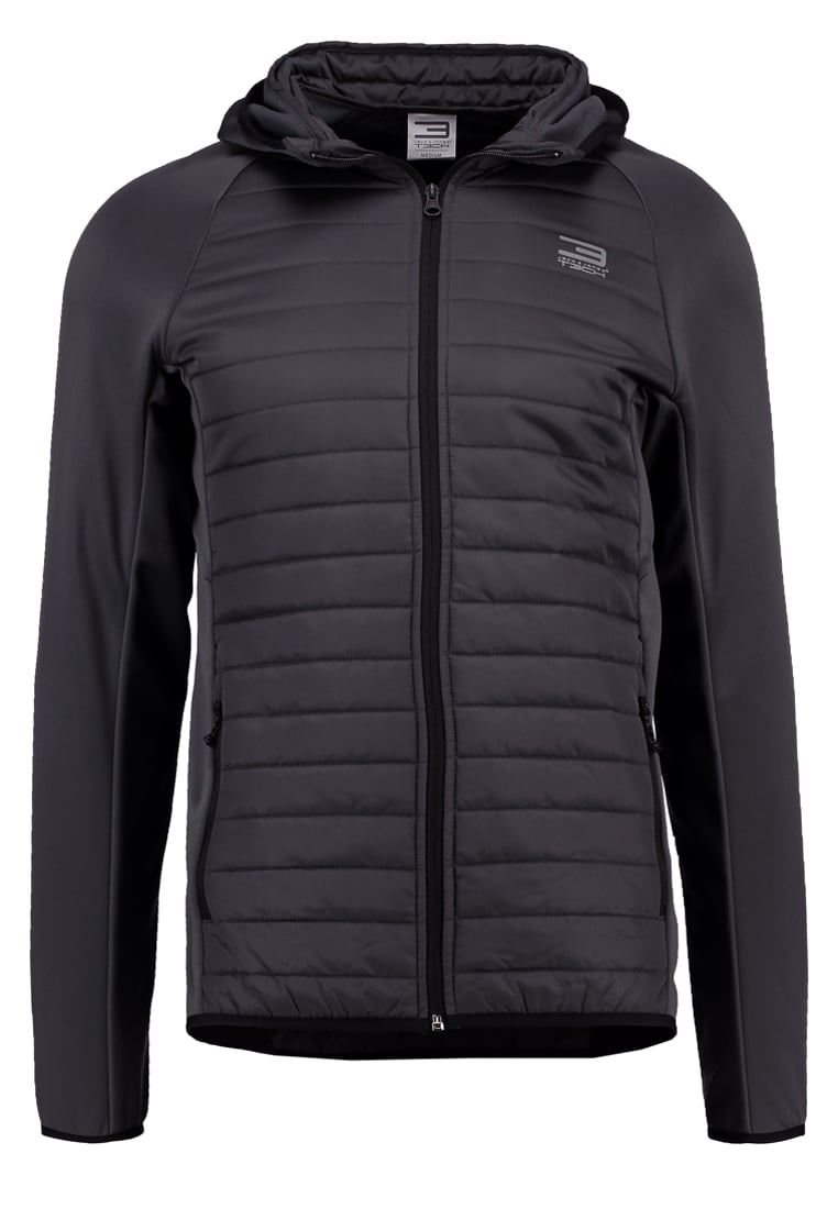Jack & Jones Tech JJMULTI Kurtka Outdoor asphalt - 12110590